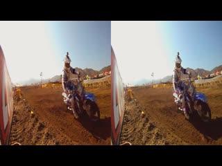 Gopro. motocross 3d vr sbs