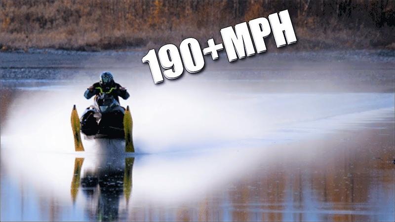 FASTEST SNOWMOBILES ON EARTH! 190MPH!