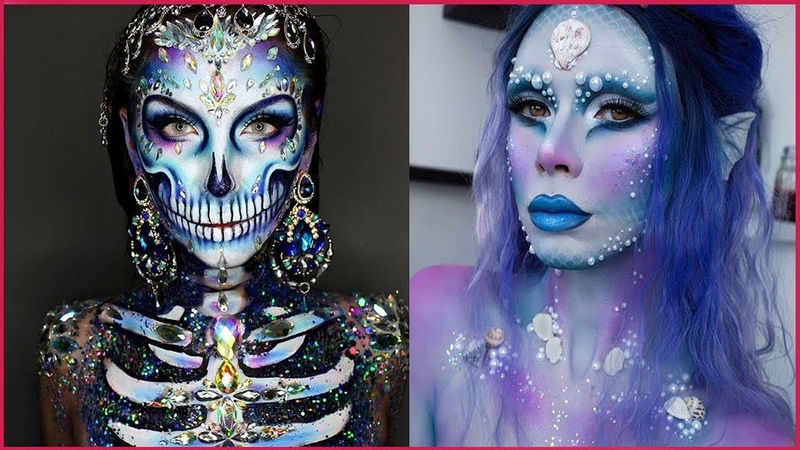 10 Cool Ideas for Halloween Parties 👻 Halloween Makeup Tutorial 2018