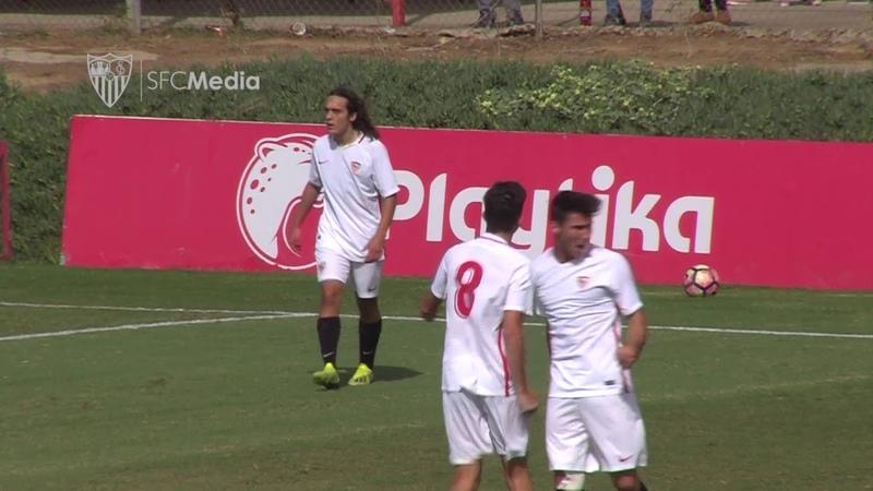 El Juvenil A vuelve a la senda del triunfo en División de Honor ante el Granada CF (3-2)
