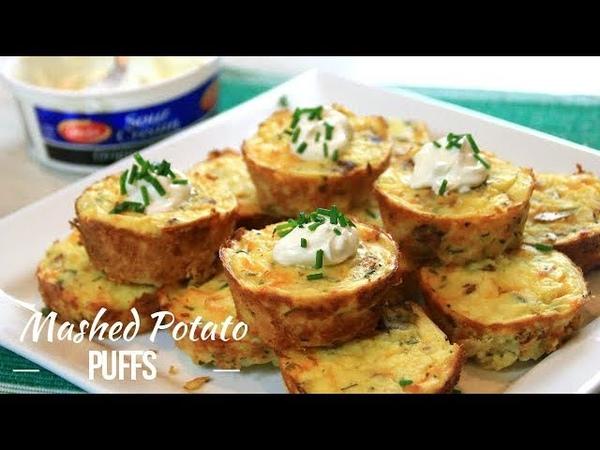 Delightful Mashed Potato Puffs