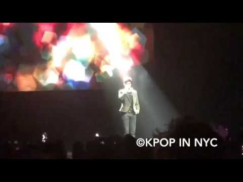 SF9 에스에프나인 in New York 2019.04.21 Dawon, Youngbin, Zuho See You Again cover [phone fancam 직캠]