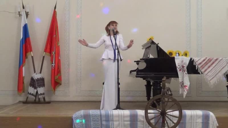 Поёт Оксана Дроздова вид.1254