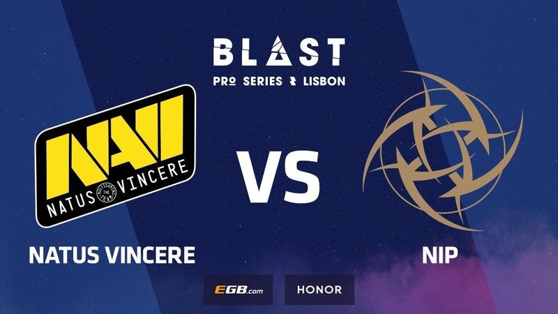 Natus Vincere vs NiP, Overpass, BLAST Pro Series Lisbon 2018