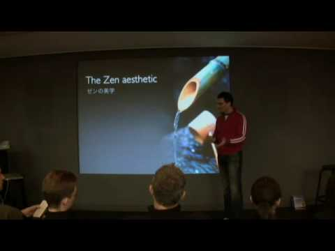 What is Presentation Zen? 9-min intro at Apple Store Japan, Feb '08