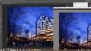 Photoshop architecture rendering tutorial : night seane