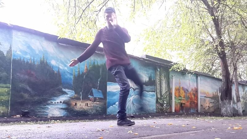 Street art вдохновляет на Martial art