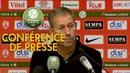 Conférence de presse AS Nancy Lorraine Red Star FC 1 0 2018 19