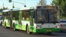 Автобус ЛиАЗ-6213.22 Мосгортранс с маршрутом №14 Станция Реутово - Метро Лухмановская