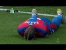 Чемпионат Англии Кристал Пэлас Ньюкасл Промах Сахо по пустым воротам