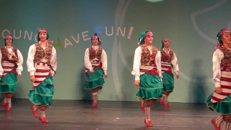(Hacettepe University Children Folk Dance Group)Turkey Folkdance- Horon
