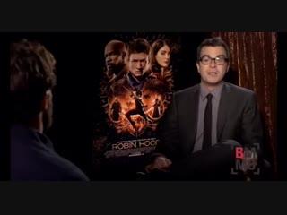 Пресс-джанкет интервью Джейми для фильма Робин Гуд1