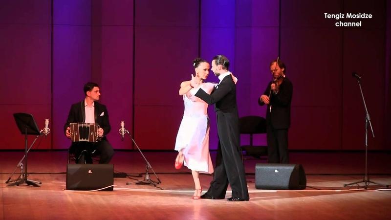 "Tango-Vals Desde el Alma. Olga Nikola and Dmitriy Kuznetsov with ""Solo Tango Orquesta. Танго."