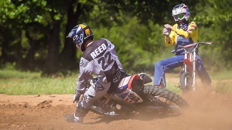 Chad Reed Rides Ronnie Macs Screamin' Eagle 1998 CR250