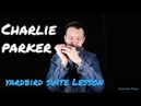 Charlie Parker's Yardbird Suite on Harmonica