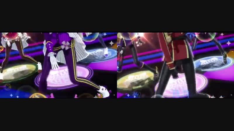 Idol Time PriPara Gira Galactic・Tightrope Comparison MY☆DREAM vs WITH