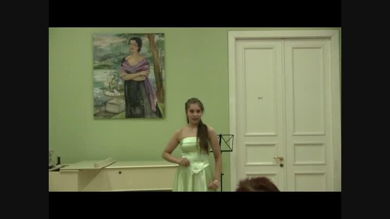 Софья Шех А.Даргомыжский Песня Ольги из оперы Русалка