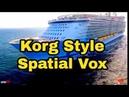 Italo Disco - KorgStyle Spatial Vox- Instrumental (Korg Pa 900)