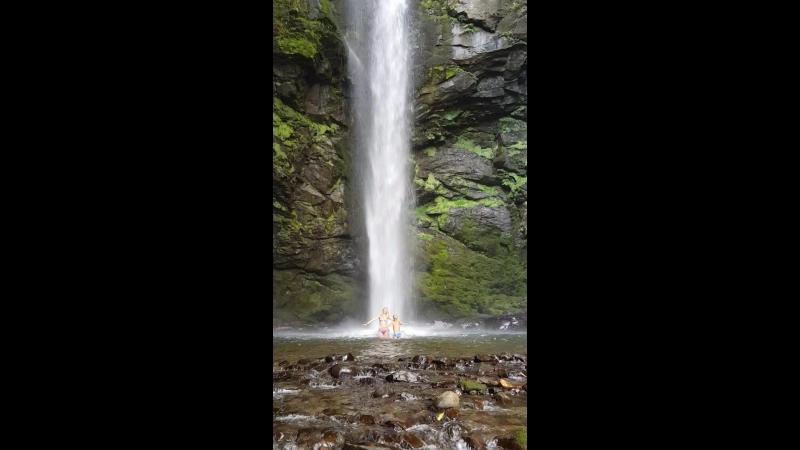 Водопад Святой. Акармарские водопады.