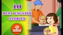 10 Best English Stories For Kids | Stories For Grade 2 | Story Time | Periwinkle