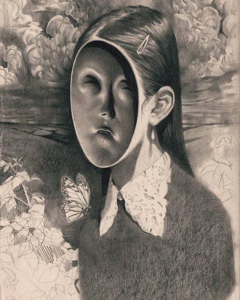 Мир тёмного сюрреализма, или рисунки о том, что скрыто глубоко внутри большинства