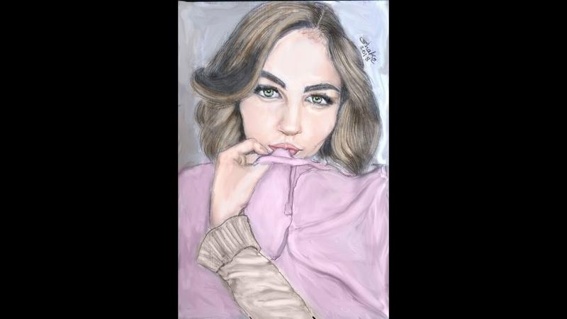 رسوماتي الجديدة..Yeni çizimlerimden biri..Один из моих новых рисунков..One of my new drawings