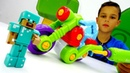 Игры для мальчиков - Мотоцикл для Стива! – Видео с Лего Майнкрафт.