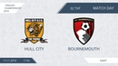 AFL18. England. Championship. Day 32. Hull City - Bournemouth