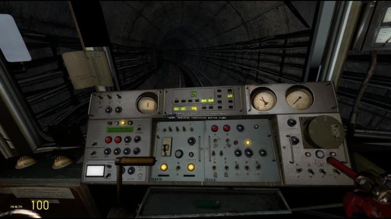 [hussein] Как запустить поезд метро в Garry's mod