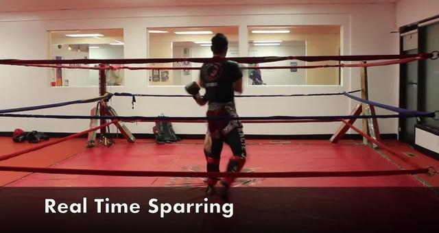 Тайский Бокс: Подсечка лавочка (sweep)