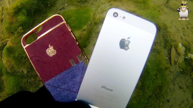 Nehirde iphone ve galaxy s8 buldum (ı found iphone samsung s8 plus river treasure