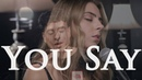 You Say by Lauren Daigle (Spanish/English Version) | cover by Jada Facer ft. Jeff Keylor