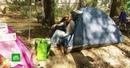 В Балашихе обманутые дольщики разбили палатки в заброшенном квартале