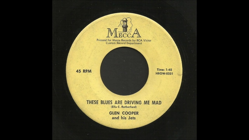 Glen Cooper - These Blues Are Driving Me Mad - Rockabilly 45