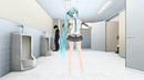 【MMD】 【R-18】 Bathroom Dancing with Miku
