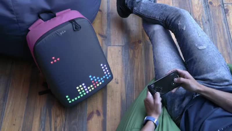 Backpack Game Tetris Led