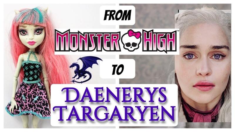 DAENERYS TARGARYEN DOLL / GAME OF THRONES / Monster High Repaint by Poppen Atelier