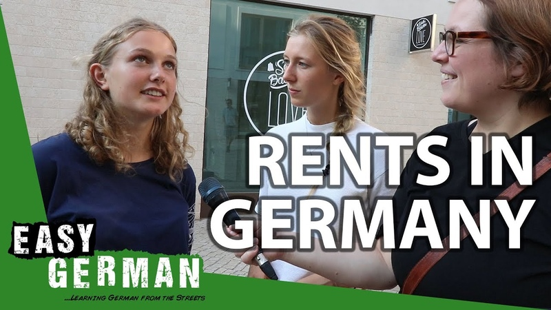 How much does it cost to rent a place in Germany | Easy German 257