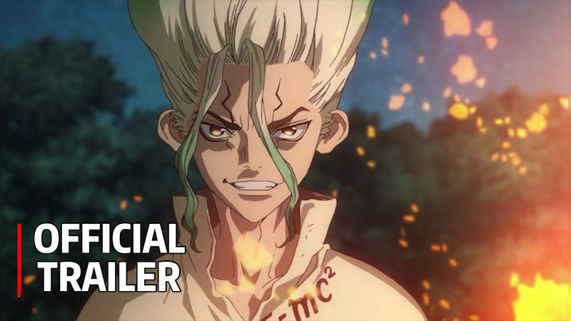 Dr.STONE Trailer - Official PV