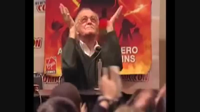 Stan Lee Panel at NY Comic Con_ Excelsior Память об Стан Ли