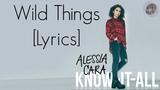 Wild Things - Alessia Cara LYRICS