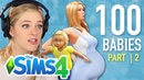 Single Girl Tries The 100-Baby Challenge In The Sims 4   Part 2