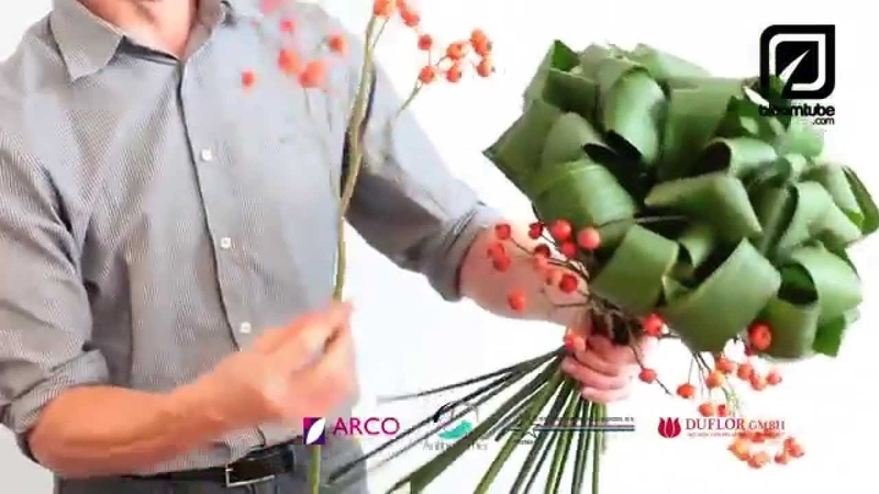 Floral hand tied bouquet tutorial how to make