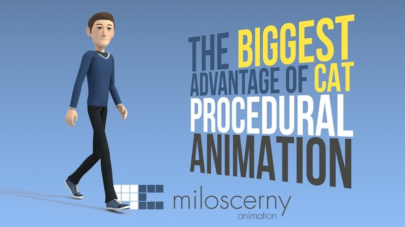 Procedural Animation Explained - The Biggest Advantage of 3ds Max CAT