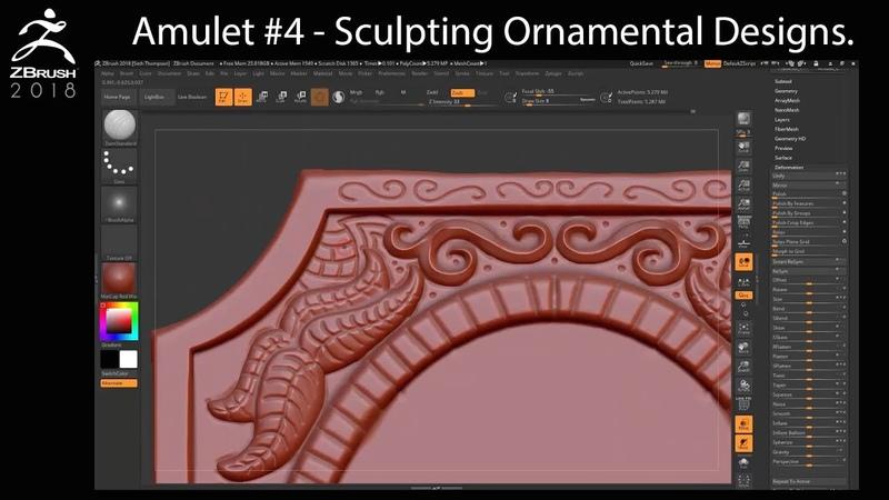 Amulet Chapter 4 - Sculpting Ornamental Designs