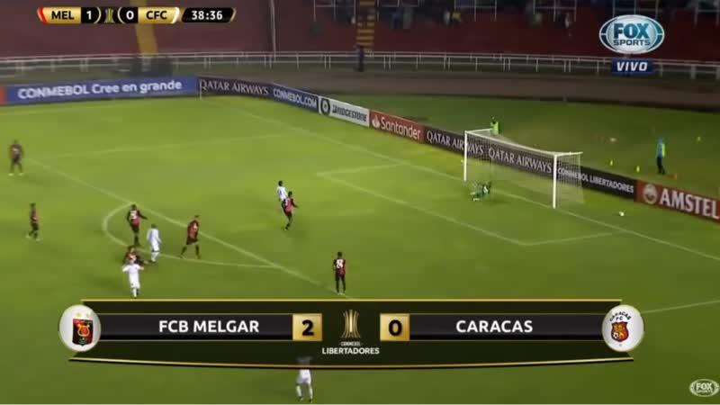 Melgar venció 2-0 a Caracas por ida de tercera fase previa de la Copa Libertadores 2019