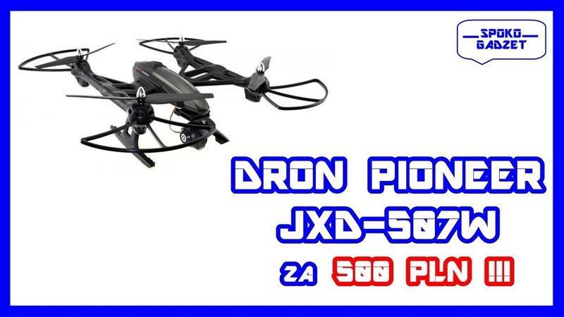 Duży Dron JXD 507W Prezentacja oraz nauka latania ❗ KONKURS ❗❗ 🚁