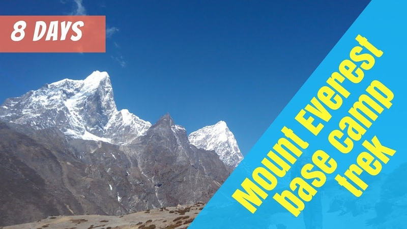 Quickest way to Everest base camp trek 8 days