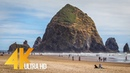 Pacific Northwest. Part 1/Coastal Oregon - Views of the Ocean in 5K - 3 HOUR Relaxation Video