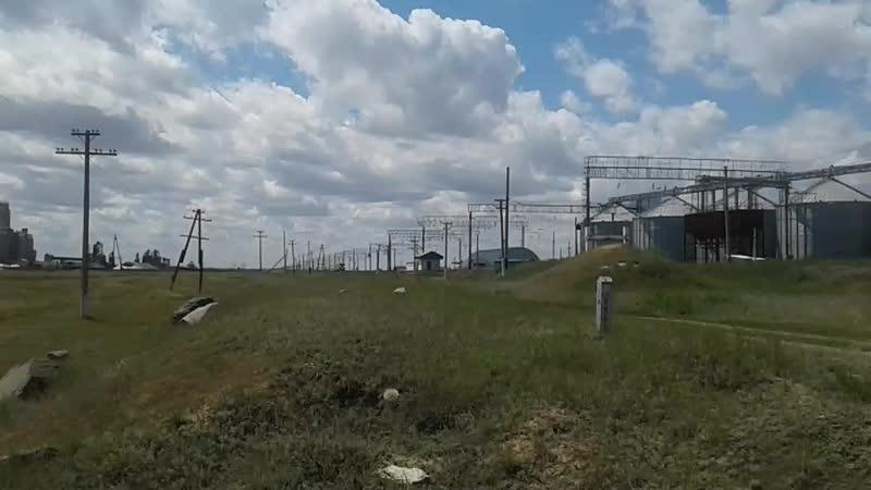 Поезд 376Р Риддер Астана ст Жолкудук